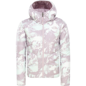 The North Face Reversible Perrito Jacket Girls ashen purple mountain scape print